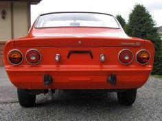1974 Opel Manta - orange