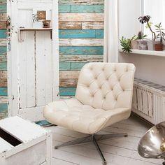 Tapete Holz Holzbrett Vintage Rasch Textil Bunt 022318