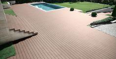 Park im Freien Deck Dekoration wählt, welches Material? WPC Decking ist die bessere Wahl. vor dem Kauf des Decks finden …