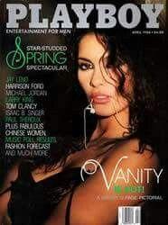 Denise Matthews, King Tom, Alberto Moravia, Vanity 6, Vanity Singer, Poll Results, Hugh Hefner, Fashion Forecasting, Tom Clancy