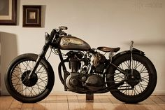 Custom BSA 'Lazer Death' by Corpses From Hell