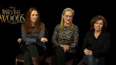 Catherine Tate, Meryl Streep and Imelda Staunton in an Into The Woods featurette