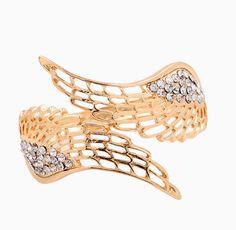 Wings Cuff Bracelet