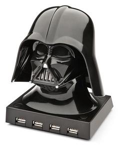 Darth Vader USB Hub. Cool.