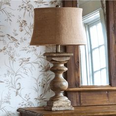 This architectual balustrade lamp is an authentic reproduction of an old relic, with all the style of an antique lamp. For more vintage decor visit Antique Farmhouse. Farmhouse Lamps, Rustic Lamps, Antique Farmhouse, Country Farmhouse Decor, Antique Lamps, Antique Decor, Country Living, Park Hill Collection, Best Desk Lamp