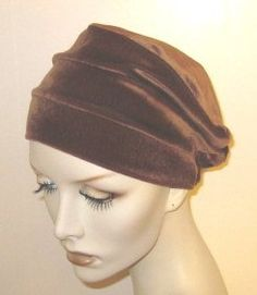 Hats with Heart 3-seam Velvet Turban « Clothing Impulse. Honestly it's cancer . Wigs are hot and hurt . Buy some different comfy hats. And be yourself and be fun.