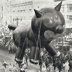 Vintage Macy's Thanksgiving Parade http://vintage-everyday.blogspot.com