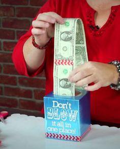 He Knew Giving Money Was A Boring Gift Idea, So He Got Creative… GENIUS!