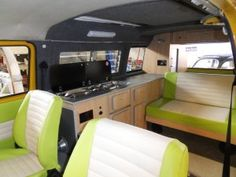 Campervan interior furniture for VW T2 bay window