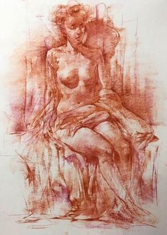 Anatomy Sketches, Drawing Sketches, Art Drawings, Pastel Drawing, Pastel Art, Figure Sketching, Figure Drawing, Figure Painting, Painting & Drawing