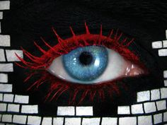 Brick Wall Eye Art by Tal Peleg