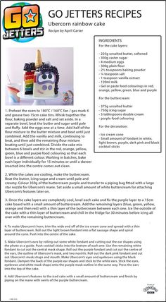 Best recipe to make this showstopper Go Jetters unicorn rainbow cake for your kids' birthday party! Bbc Kids, Kids Tv, First Birthday Cakes, 5th Birthday, Cbeebies Cake, Go Jetters, Baking Flour, Cake Ideas, First Birthdays