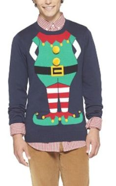 silly elf Christmas sweater http://rstyle.me/n/tmkn5r9te
