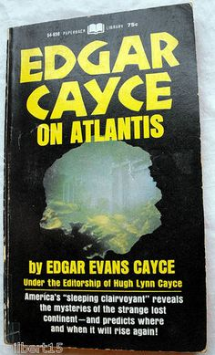 Edgar Cayce on Atlantis. Can't wait to read this one!