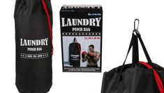 Buy Novelty Laundry Punch Bag UK deal for just: £8.99 Make the most of your dirty undies with aNovelty Laundry Punch Bag      The fun laundry bag doubles up as a punching bag when filled.      Hang around the home, in bedrooms or utility rooms      Who needs a punching bag when you have your laundry?      Makes a great novelty gift for any budding boxer      Dimensions: 80cm x 50cm     ...