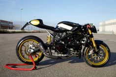 Ducati Cafe Racer - IRON Pirate Garage #motorcycles #caferacer #motos | caferacerpasion.com
