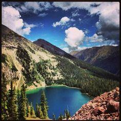 Snowmass Lake, Maroon Bells, Colorado