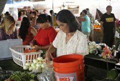 Tucked in historic downtown Hilo, the Hilo Farmers Market is a regular stop for residents and visitors alike.