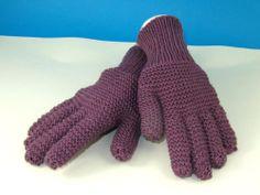 Garter Stitch Gloves
