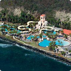 Coqui Water Park, El Conquistador Resort, Fajardo, PR