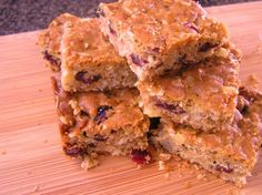 Cranberry Oatmeal Bar Cookies Recipe - Food.com - 140050  These are so easy and quick to make. I added chopped walnuts. Delish!