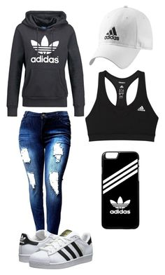 """""""Adidas"""" by karhoades-2 ❤ liked on Polyvore featuring adidas Originals and adidas"""