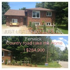 SOLD! Country home with In-Law Suite! 807 Foss Rd., Fenwick $284,900  VIEW VIDEO: http://www.youtube.com/watch?v=NsjDjJ5kHUE=share=UU76BMOmpq6A4EV2_6PkMl5g