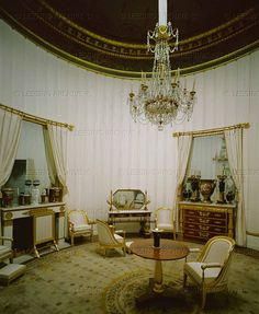 Boudoir of Marie Louise, 2nd wife of Napoleon