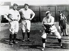 "April 2 1931 A history making exhibition game w/ the NY Yankees & minor league Chattanooga Lookouts. The game included Babe Ruth, Lou Gehrig & relief pitcher 17 yr old Jackie Mitchell the 1st woman pro baseball player. Scheduled for April Fools, but delayed due to rain it was a real shock when she struck both Ruth & Gehrig out or was it. The authenticity in question she was still forever labeled as ""the girl who struck out Babe Ruth"". Jackie maintained it was true via inhistoric.com."