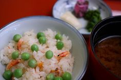 Japanesque lunch course --Rice and Miso soup 御飯と止椀-- by Teruhide Tomori, via Flickr
