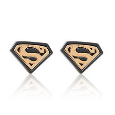 Extra Superman Sign Earrings Superman Studs Superhero Stud Earrings
