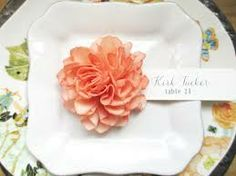 Love this idea for place settings...