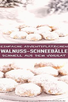 #Easy #christmas #cookies #rezept #schnell Walnuss Schneebälle ganz einfach  Das Rezept für einfache Advents und Weihnachtsplätzchen die schnell aus Deinem Vorrat gemacht sind   brp classfirstlettereasy christmas cookies and The biggest appealingly Pictures at PinterestpCharacteristic of The Pin Walnuss Schneebälle ganz einfach  Das Rezept für einfache Advents und Weihnachtsplätzchen diebrThe pin registered in the Advents board is selected from among the pins with high image quality and… How To Cook Ham, Wal, Shortbread, Cooking, High, Food, Snowball, Advent Season, Homemade