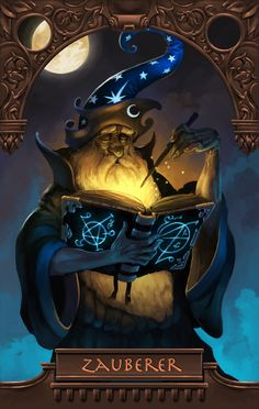Just for fun... imagination running wild with our fantasy image of wizardry and magic.