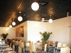 Ceilume - Southland Black Ceiling Panels.