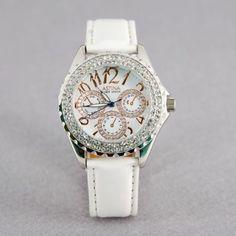 28 melhores imagens de Relógios de Pulso   Woman watches, Clocks e ... 4eab277b6c