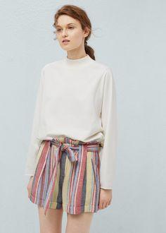 Shorts de Mulher | MANGO Portugal