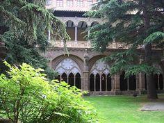 El Monasterio de Veruela en Zaragoza,