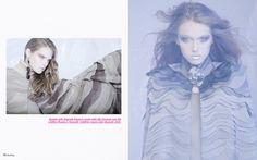 "fashion editorial for ""2B-magazine ph. Ilaraia Licci assistant Daniele Barbagallo producer Daniele Azara hair-make up Giovanna A. Stasi"
