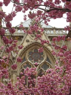 Church in Springtime