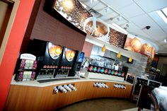 "Did you know that the new RaceTrac store models (RT6Ks) have an expanded coffee bar with over 7 coffee blends plus a variety of cappuccino flavors, teas and more? What a ""warm"" welcome from RaceTrac! www.RaceTrac.com"