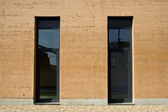 Industrial Warehouse, Serpa, Portugal Taipa, Rammed Earth, Pisé