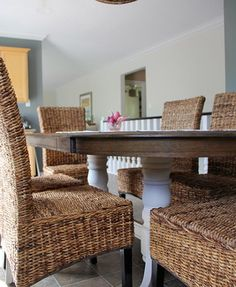 Live Pretty On A Penny Refinishing An Oak Table A Dining Room Prepossessing Oak Dining Room Decorating Inspiration