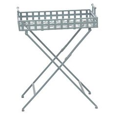 Threshold Gray Metal Square Plant Stand