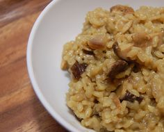 Mushroom Risotto Recipe  Gordon Ramsay Approved?  Via www.grandmajuice.net