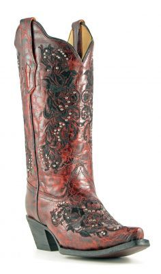 Women's Lucchese Mad Dog Goat Boots Red #Gc9454 | Cowboy Boot New ...