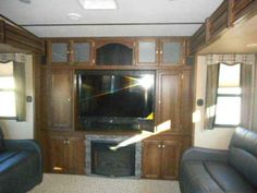 """2016 New Keystone Sprinter RVs 353FWDEN Fifth Wheel in Wisconsin WI.Recreational Vehicle, rv, 2016 Sprinter RVs 353FWDEN Front queen bed with rear living room and four slides Theater seating, 60X80 queen bed, painted cap, 55"""" LED TV, 12 gal gas/elec wtr htr w/DSI, elec 4 point leveling system, elec awning w/LED lighting, stainless steel res. refrig. w/ice maker, 15,000 BTU A/C, and 2nd A/C"""