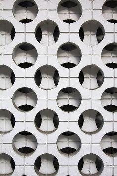 #Concrete #block screen wall pattern, M Street, Washington, D.C. http://t.co/A1upL5n9