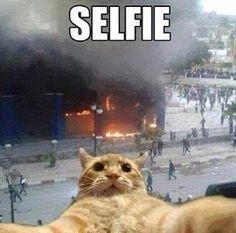 EPIC fail selfie