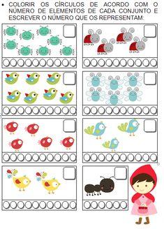 Colorindo e aprendendo números até 9
